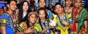 Olay Yapanit Winning the Eat Bulaga's Eat Rocks Christmas Jam to the Max Photo by: Olay Yapanit's Facebook Account