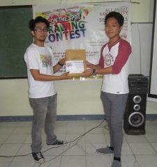 Featured Lucenahin Jopeth Buñag: Winner of the All About Lucena On-the-Spot Drawing Contest