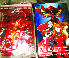 Lucenahin Collections – Evangelion Action Anime Figures