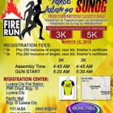 Lucena Bureau of Fire Protection Celebrates Fire Prevention Month with Fun Run
